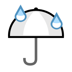 Možen je rahel dež